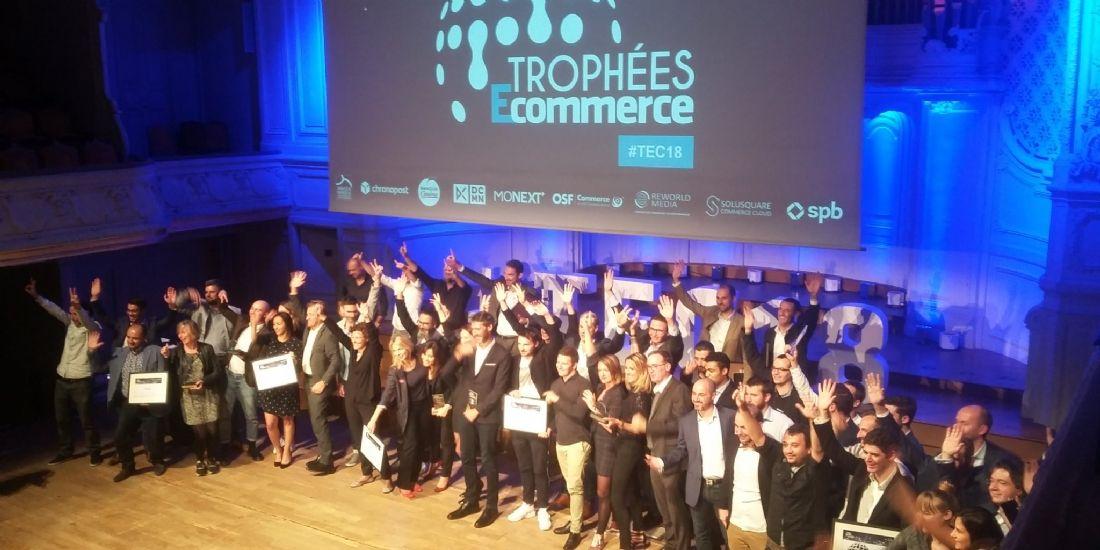 Trophées E-Commerce 2018 : le palmarès