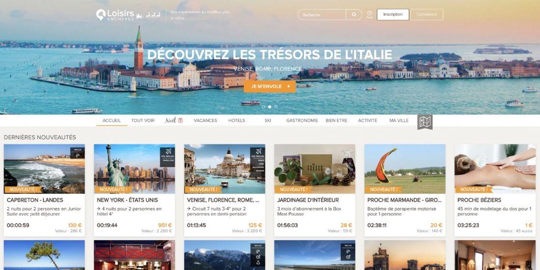 La start-up bordelaise Loisirs Enchères lève 4 millions d'euros