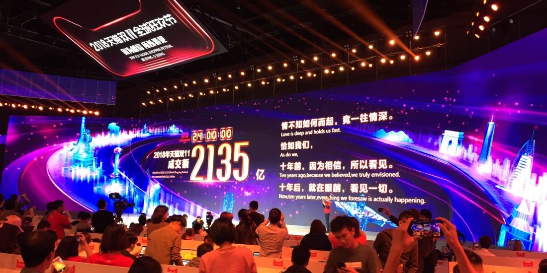 [Reportage] Alibaba pulvérise le record du Global Shopping Festival