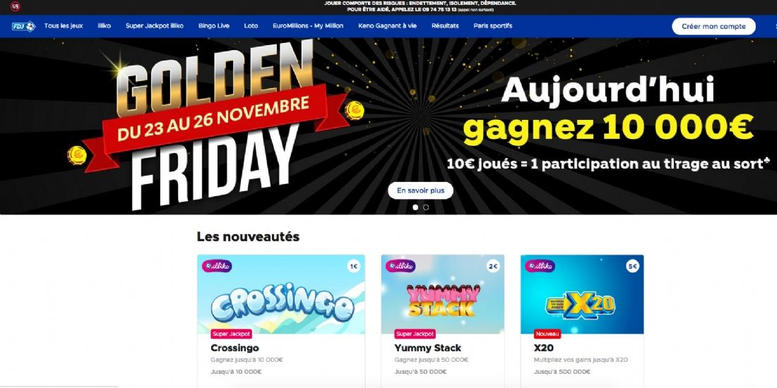La FDJ repense son site e-commerce