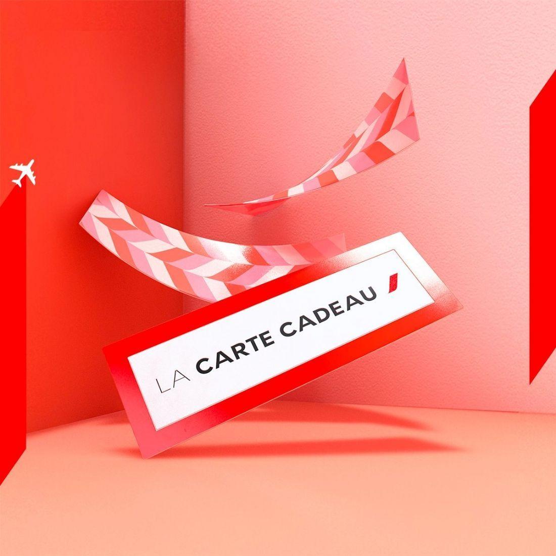 carte cadeau air france Air France lance une carte cadeau