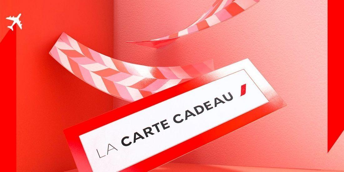 Air France lance une carte cadeau