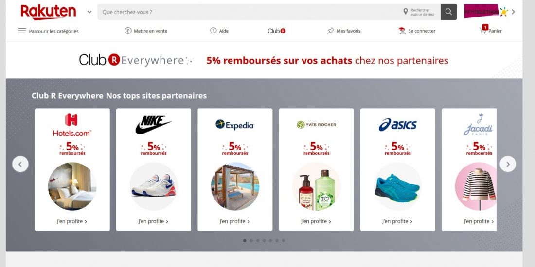Rakuten France lance son Club 'R Everywhere' à destination des e-commerçants