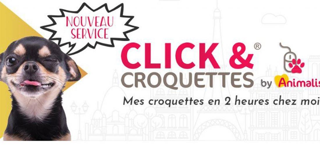 Animalis lance le 'click and croquettes' à Paris