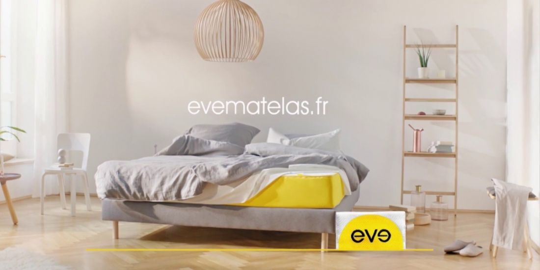 eve sleep inaugure ses premiers showrooms paris et nice. Black Bedroom Furniture Sets. Home Design Ideas