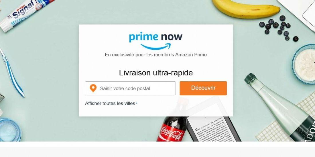 Système U bientôt fournisseur sur Amazon Prime Now ?