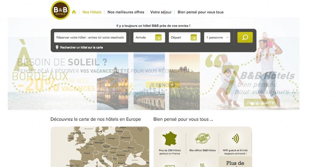 Le groupe B&B Hotels s'associe à la plateforme d'avis clients TrustYou en France