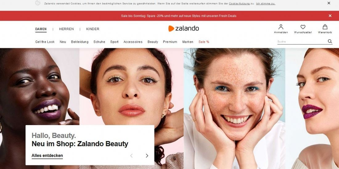 Zalando s'ouvre à la cosmétique