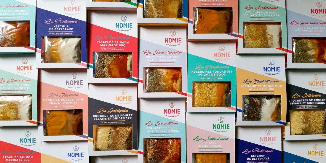 Foodtech: Nomie 'relève' les épices avec une offre revisitée