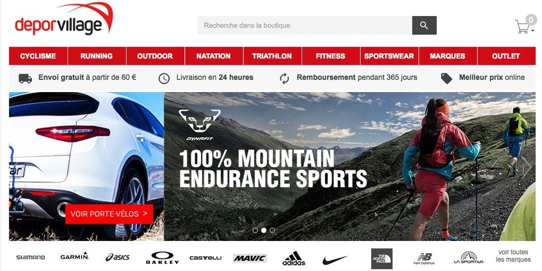 Deporvillage est le site e-commerce sport avec la croissance la plus importante d'Europe