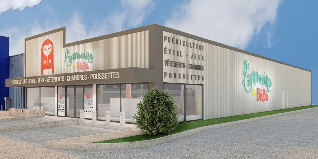 L'enseigne l'Armoire de Bébé ouvre son premier concept-store