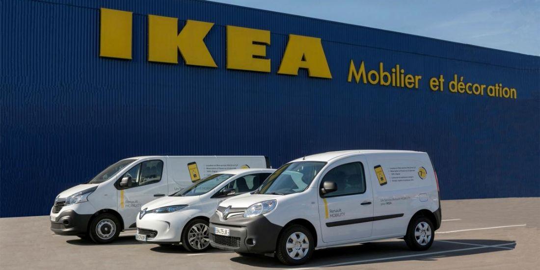 Ikea et Renault Mobility lancent un service de location de véhicules électriques