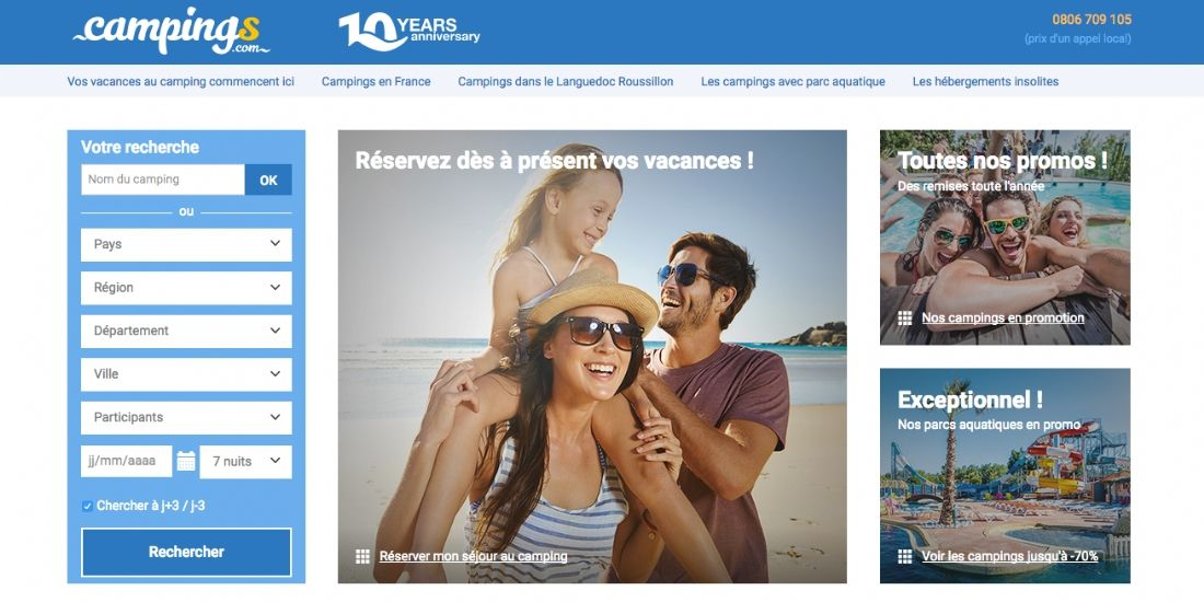 Campings.com lève 10 millions d'euros