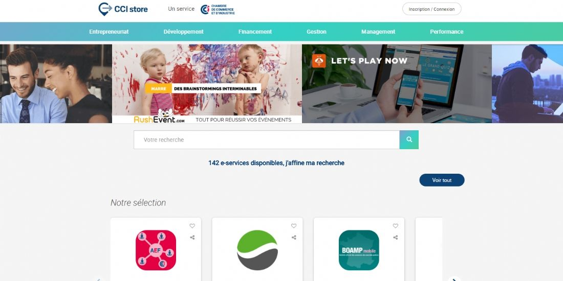 CCI Store, une marketplace de services en ligne pour les entrepreneurs