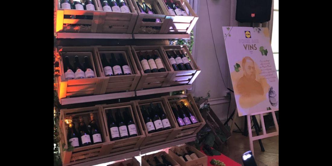 Lidl ouvre un site de vente de vin en ligne