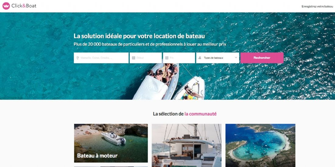 Click&Boat lève 4 millions d'euros et accélère son développement à l'international