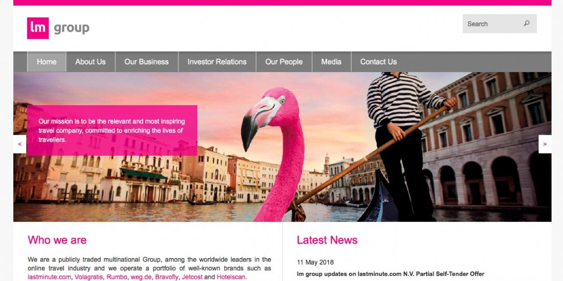 Lastminute.com group lance un partenariat avec AccuWeather