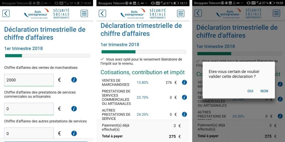 Micro-entrepreneurs : une application mobile pour déclarer et payer l'Urssaf