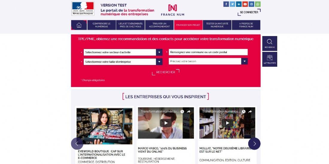 France Num, un outil pour accompagner les entreprises dans leur transformation digitale