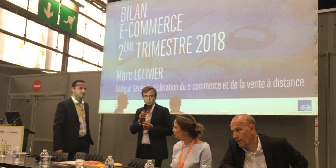 #ParisRetailWeek: L'e-commerce croît de 14% au 2e trimestre 2018