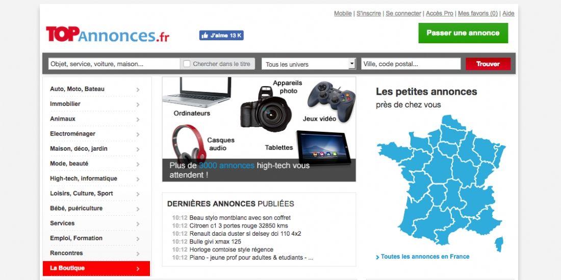 ParuVendu rachète Topannonces.fr