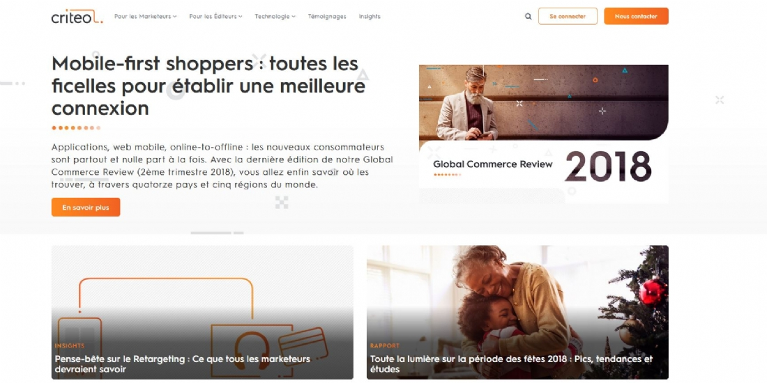 Criteo rachète la start-up Storetail