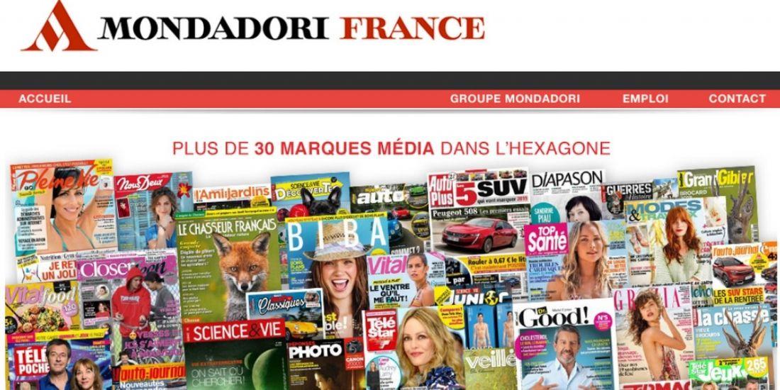 Reworld Media entre en négociation pour acquérir Mondadori France