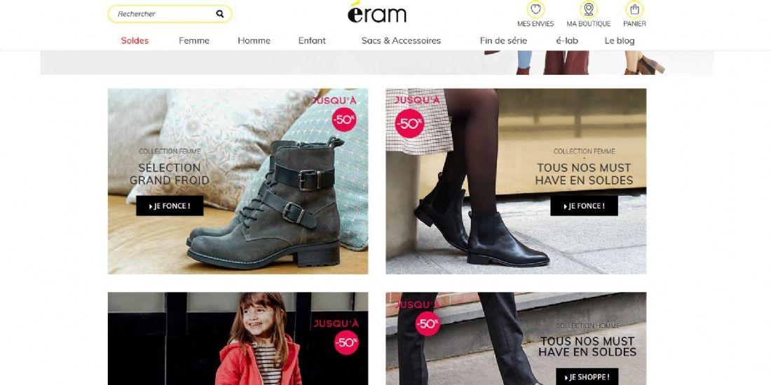 Shopopop s'associe à Eram dans la livraison collaborative