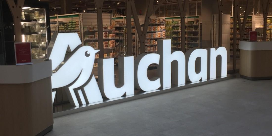 Auchan équipe l'ensemble de ses rayons d'étiquettes électroniques à Boulogne-Billancourt