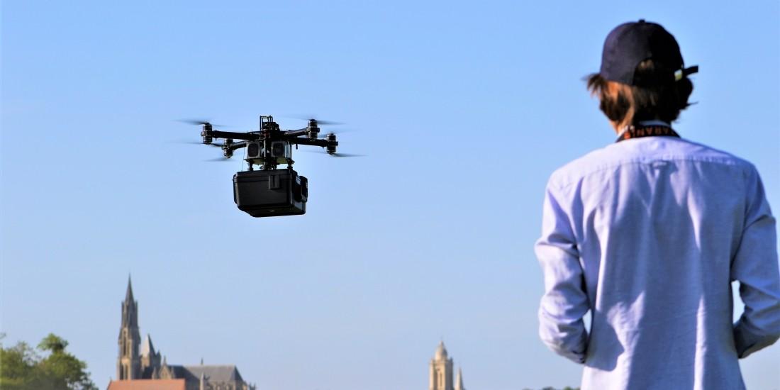 [Start-up sourcing] Hdrones - le drone du dernier kilomètre