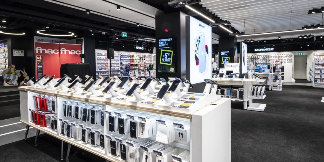 Fnac Darty ouvre son premier magasin au Luxembourg