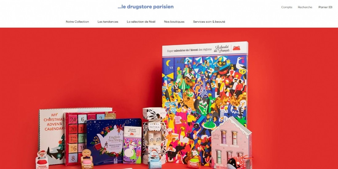 Le '... drugstore parisien' lance son site e-commerce
