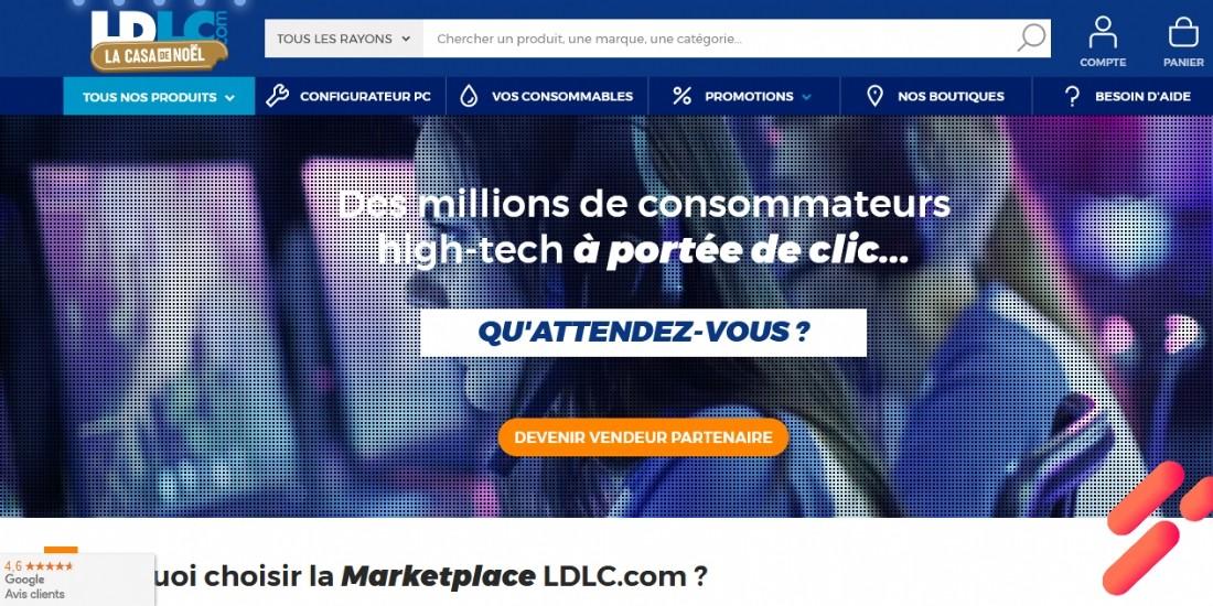 LDLC.com ouvre sa marketplace