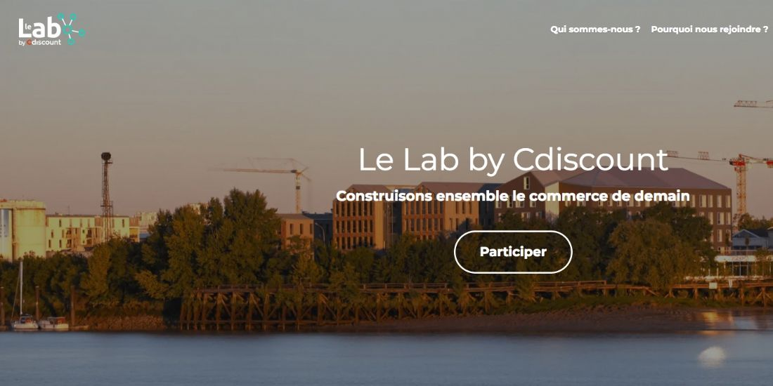Cdiscount inaugure son 'Lab'