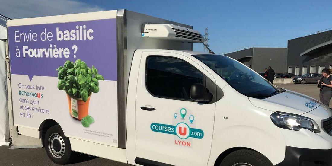 Système U repense son e-commerce alimentaire à Lyon