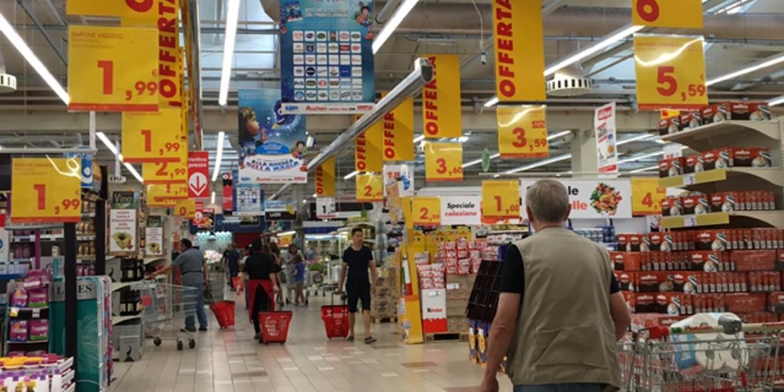 Auchan Retail se retire en Italie