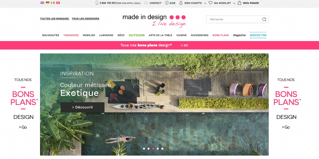 Le Printemps met la main sur Made In Design