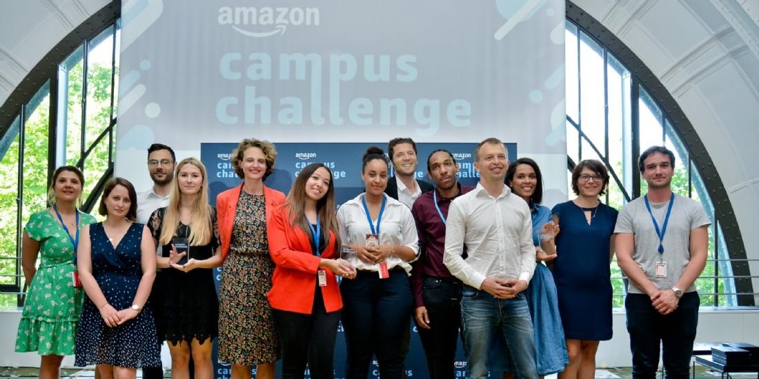 Carrés Futés et Montpellier business School remportent l'Amazon Campus Challenge