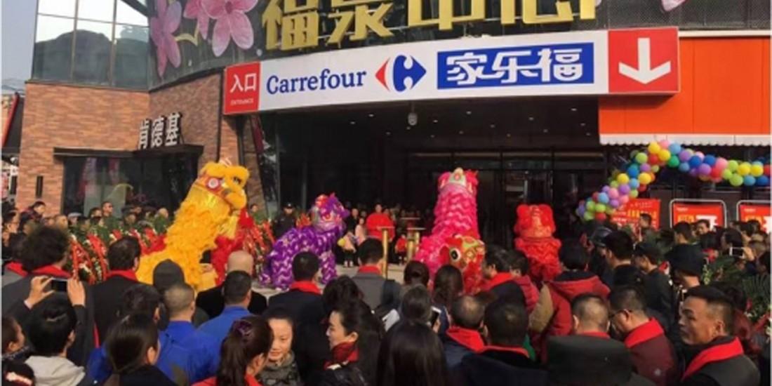 Carrefour se retire du marché chinois
