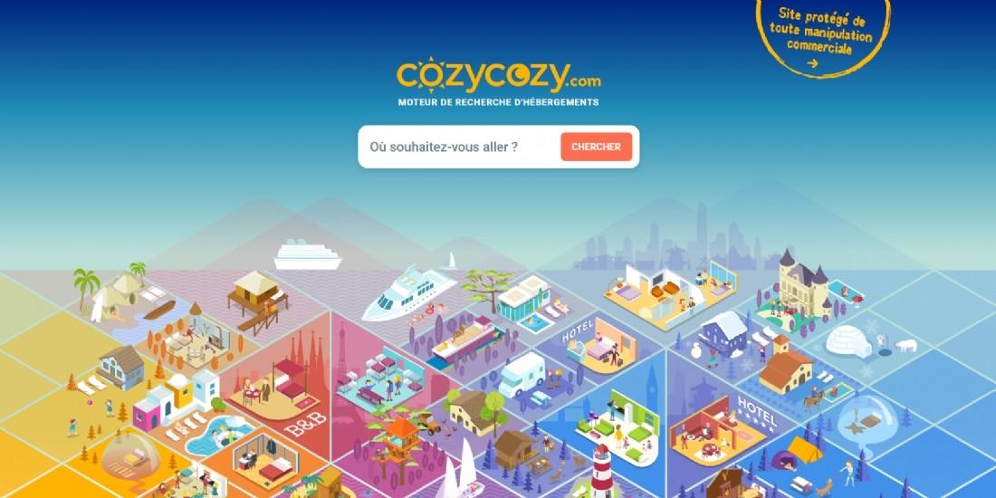 Cozycozy.com: nouveau moteur de recherche d'hébergements