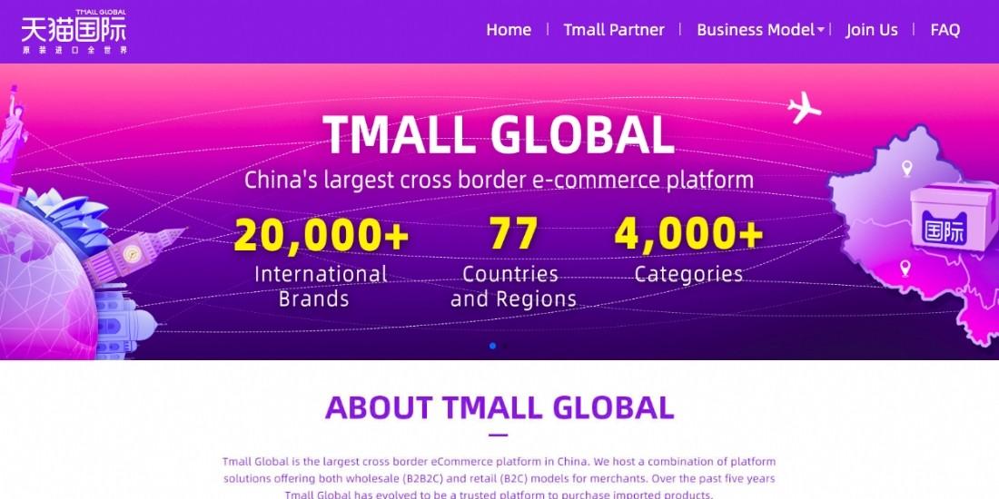La marketplace d'Alibaba se lance en anglais