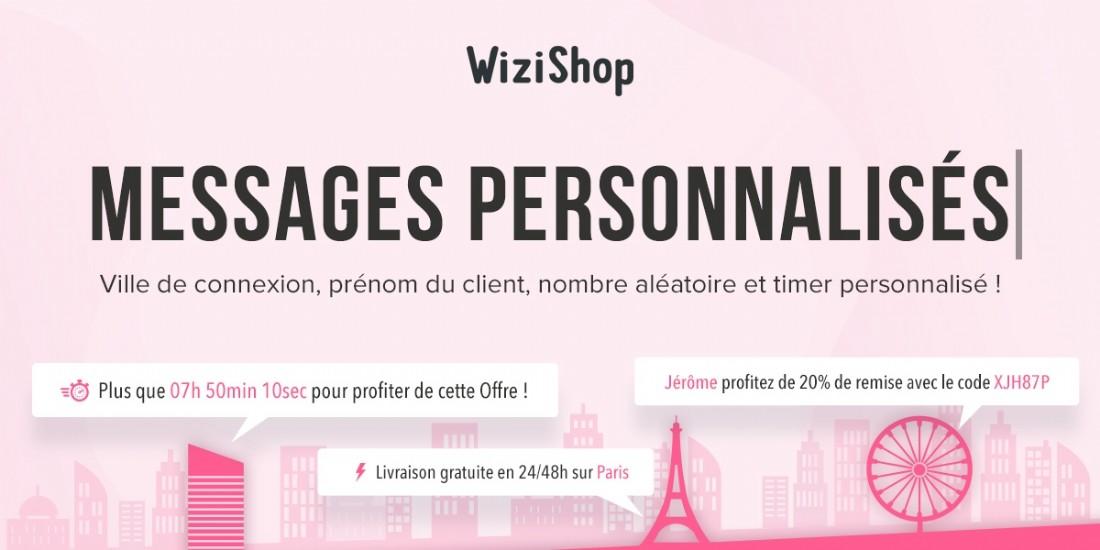 WiziShop lance des variables de personnalisation