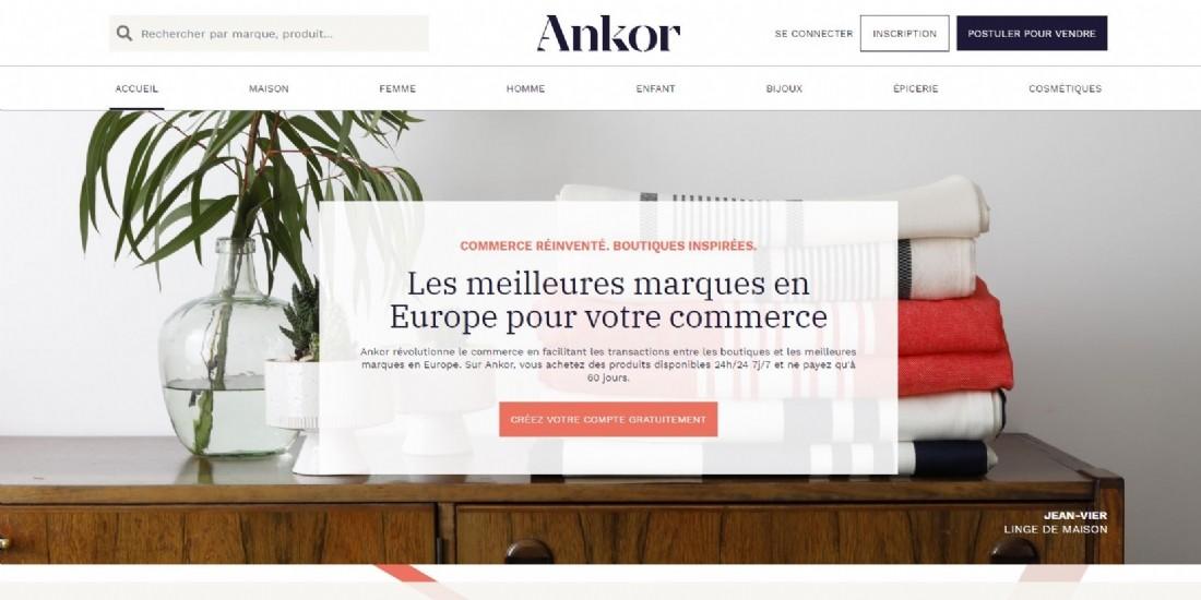Lancement d'Ankorstore, place de marché B to B