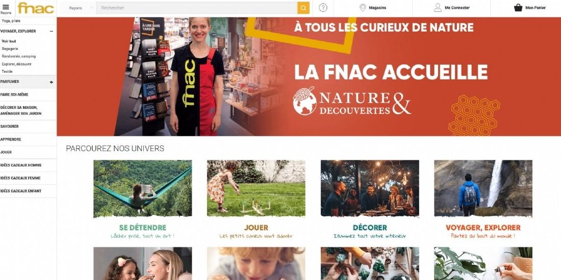 Nature & Découvertes s'installe à la Fnac de la Rochelle