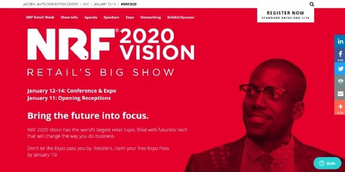 #NRF2020 La rédaction d'E-commerce Magazine, le media du retail connecté, sera à New York pour vous informer sur les dernières tendances du Retail's Big Show !
