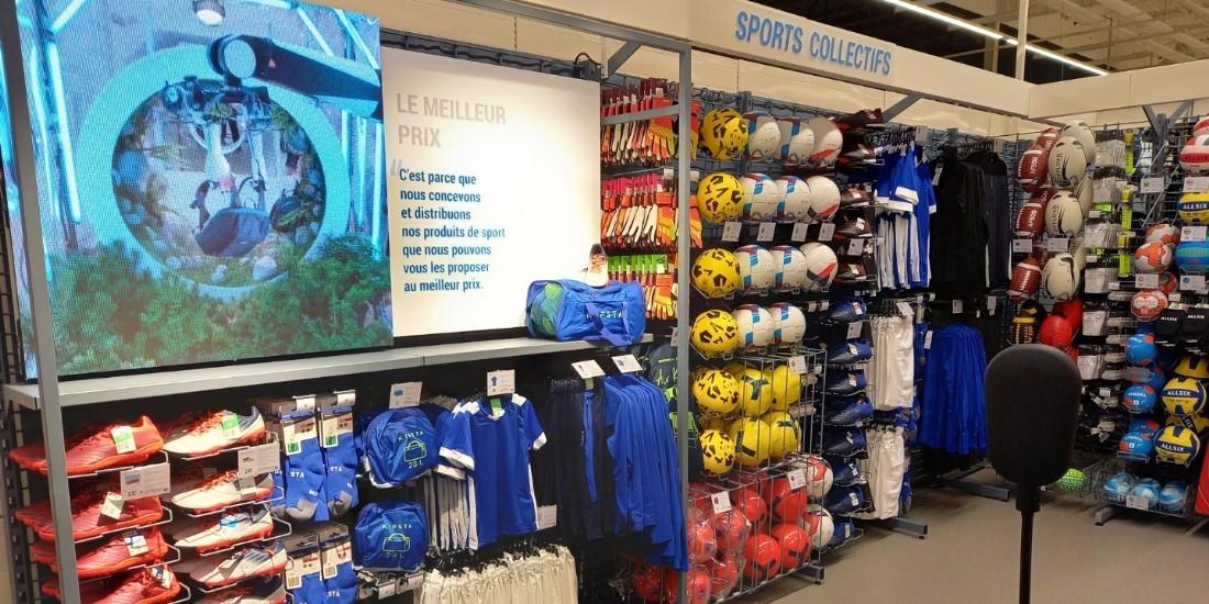 Decathlon s'installe dans un hypermarché Auchan