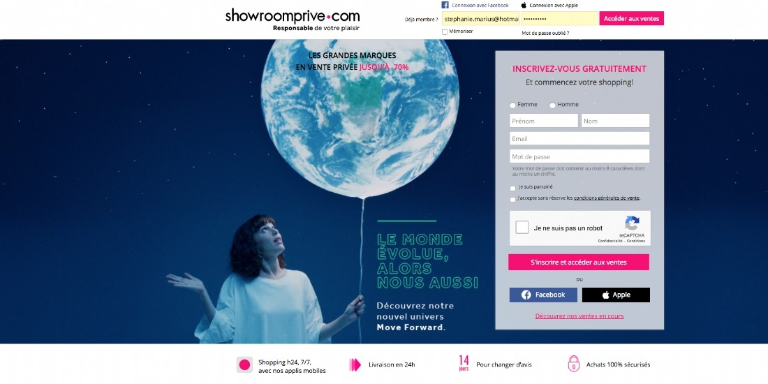 L'embellie se poursuit pour Showroomprivé