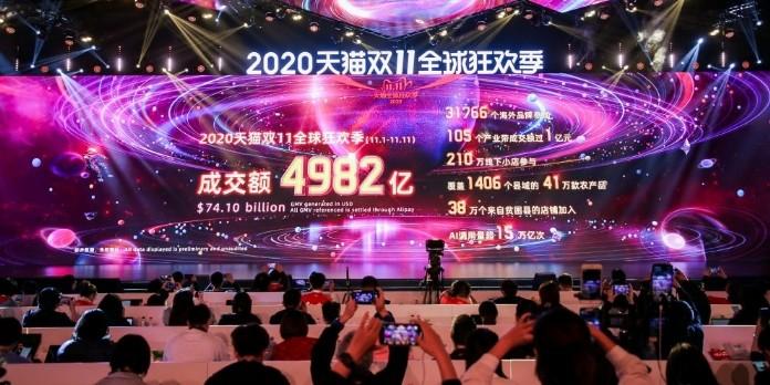 Alibaba explose le compteur avec son Single Day 2020