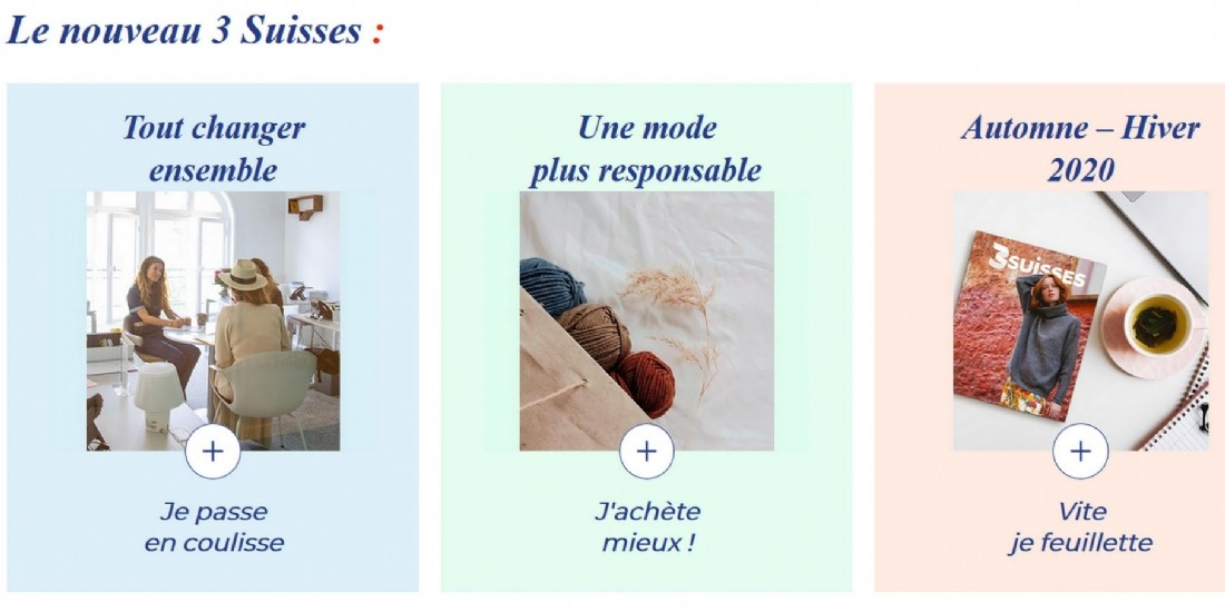 Comment 3 Suisses se construit une image responsable