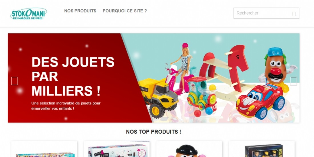 Stokomani lance son site e-commerce